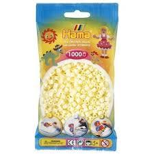 Hamma Beads Cuentas Hamma Hamma Didacticos Paquete 1000 Piezas Color Crema Tamaño Mediano