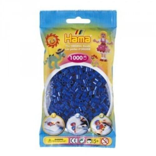 Hamma Beads Cuentas Hamma Hamma Didacticos Paquete 1000 Piezas Color Azul Tamaño Mediano