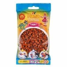 Hamma Beads Cuentas Hamma Hamma Didacticos Paquete 1000 Piezas Color Marrón Oscuro Tamaño Mediano