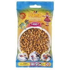 Hamma Beads Cuentas Hamma Hamma Didacticos Paquete 1000 Piezas Color Café Claro Tamaño Mediano
