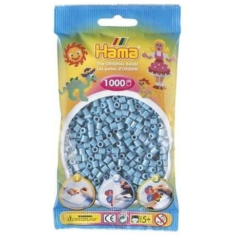 Hamma Beads Cuentas Hamma Hamma Didacticos Paquete 1000 Piezas Color Turquesa Tamaño Mediano