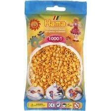 Hamma Beads Cuentas Hamma Hamma Didacticos Paquete 1000 Piezas Color Amarillo Teddy Tamaño Mediano