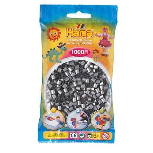 Hamma Beads Cuentas Hamma Hamma Didacticos Paquete 1000 Piezas Color Plata Tamaño Mediano