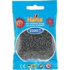 Hamma Beads Cuentas Hamma Hamma Didacticos Paquete 2000 Piezas Color Gris Oscuro Tamaño Mini