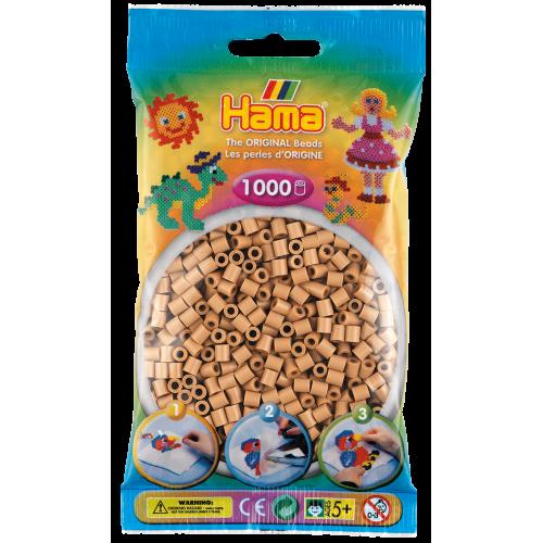 Hamma Beads Cuentas Hamma Hamma Didacticos Paquete 1000 Piezas Color Canela Tamaño Mediano