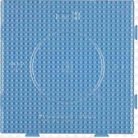 Hamma Beads Placa Hamma Hamma Didacticos Cuadrada Tamaño Midi Transparente