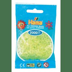 Hamma Beads Cuentas Hamma Hamma Didacticos Paquete 2000 Piezas Color Transparente Tamaño Mini