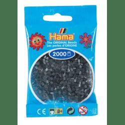 Hamma Beads Cuentas Hamma Hamma Didacticos Paquete 2000 Piezas Color Púrpura Translucido Tamaño Mini