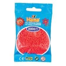 Hamma Beads Cuentas Hamma Hamma Didacticos Paquete 2000 Piezas Color Cereza Tamaño Mini