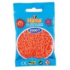 Hamma Beads Cuentas Hamma Hamma Didacticos Paquete 2000 Piezas Color Rojo Pastel Tamaño Mini