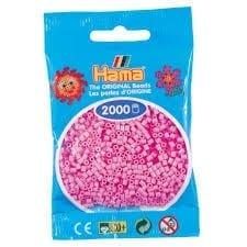 Hamma Beads Cuentas Hamma Hamma Didacticos Paquete 2000 Piezas Color Rosado Pastel Tamaño Mini