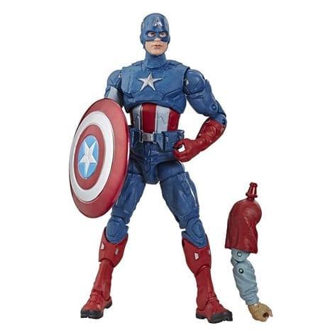 "Figura Articulada Capitán América Clásico Hasbro Marvel legends Avengers Endgame Marvel 6"""