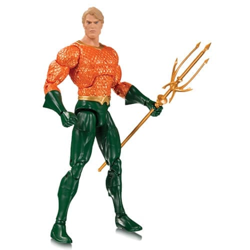 Figura Aquaman CD Essentials Rebirth DC Comics 7''