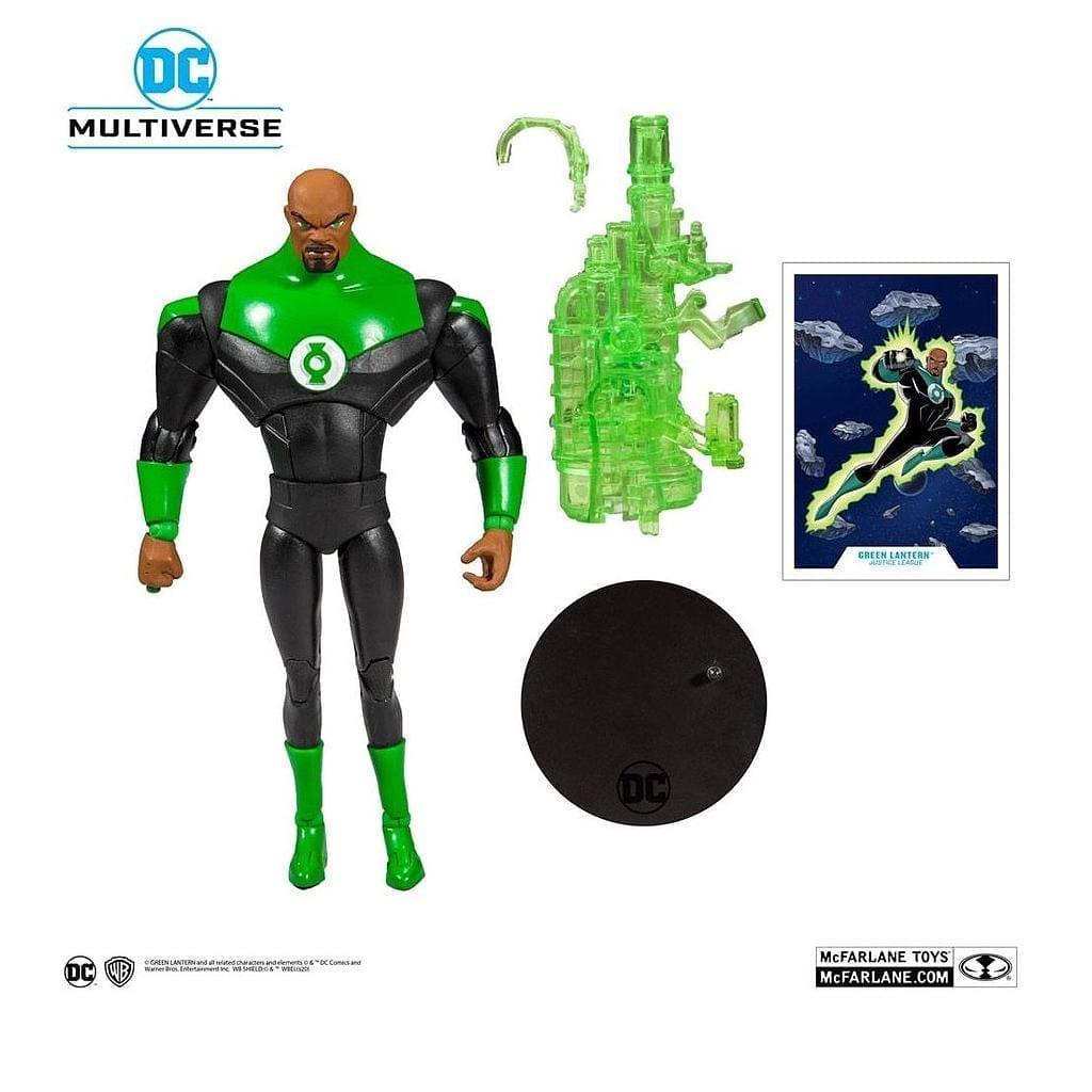 """Figura Linterna Verde Mcfarlane Justice League The Animated Series DC Comics 7"""" DC Multiverse"""
