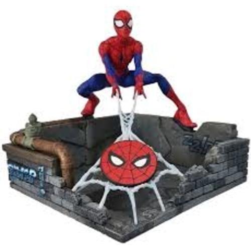 Estatuilla Spiderman Finder Keypers Marvel Telaraña