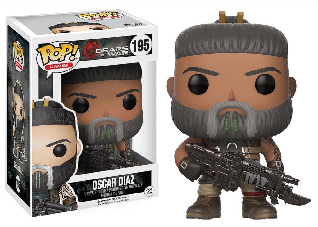 Figura Oscar Funko POP Gears of War Videojuegos