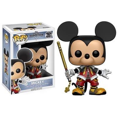Figura Mickey Funko POP Kingdom Hearts Videojuegos