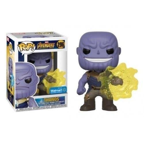 Figura Thanos Funko POP Avengers Infinity War Marvel Activando las Gemas