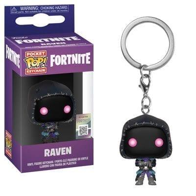 Llavero Raven Funko POP Fortnite Videojuegos