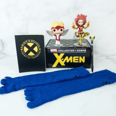 Caja Funko Collector Corps X-Men Marvel 2019