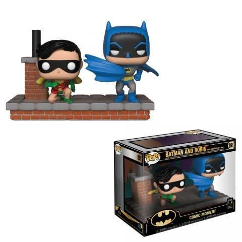 Figura Batman y Robin Funko POP Batman DC Comics Movie Moments 1972
