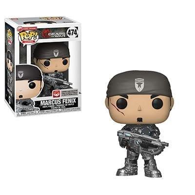 Figura Marcus Fenix Funko POP Gears of War Videojuegos (Incluye Código de Descarga)