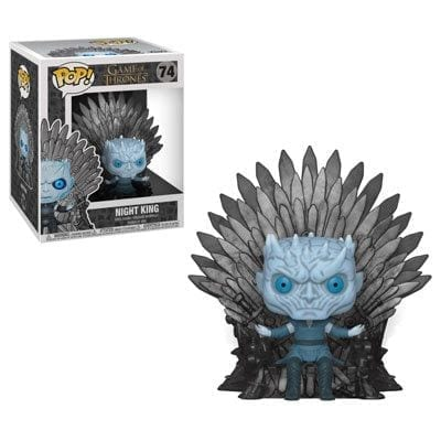 Figura Night King Funko POP Juego de Tronos Series en el Trono de Hierro