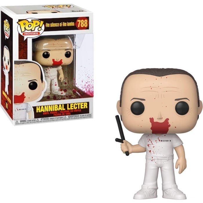 Figura Hannibal Lecter Funko POP El silencio de los Inocentes Terror Sangriento
