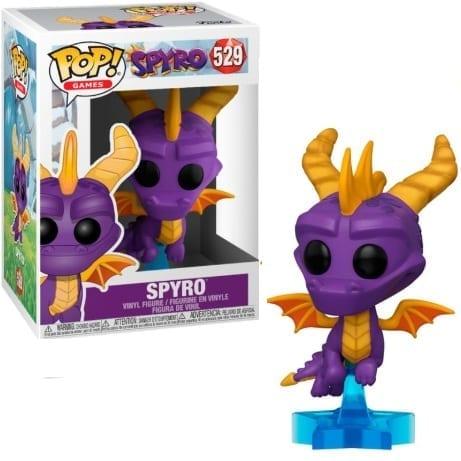Figura Spyro Funko POP Spyro Videojuegos