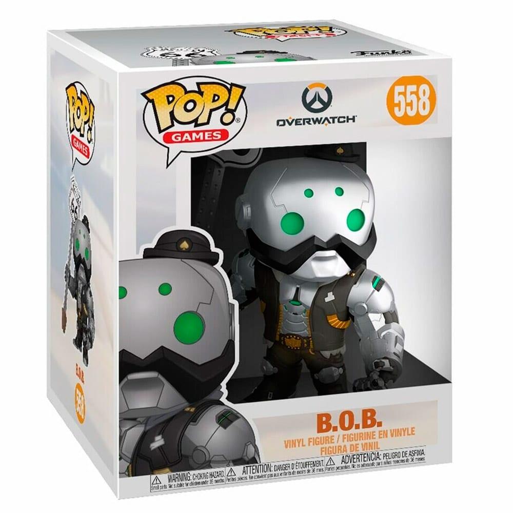 Figura B.O.B Funko POP Overwatch Videojuegos