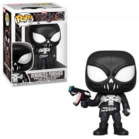 Figura Punisher Funko POP Marvel Venomizada