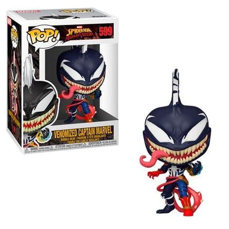 Figura Capitan Marvel Funko POP Marvel Venomizada