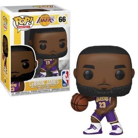 Figura Lebron James Funko POP NBA Iconos