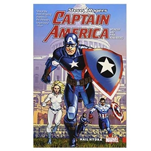 Cómic Captain America Steve Rogers PB Capitán América Marvel Vol. 1: Hail Hydra ENG