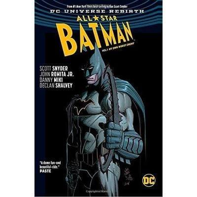 Cómic Batman All Stars Batman DC Rebirth DC Comics Vol 1 My Own Worst Enemy ENG