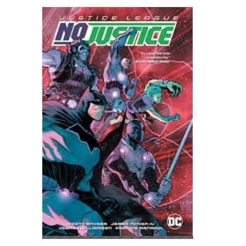 Cómic No Justice PB Liga de la Justicia DC Comics ENG