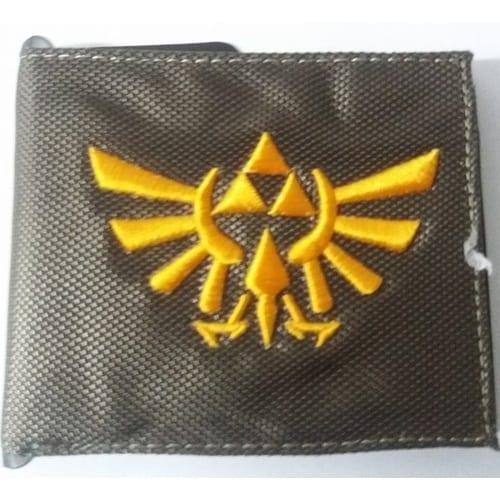 Billetera de Goma Trifuerza PT The Legend of Zelda Videojuegos Fondo Verde