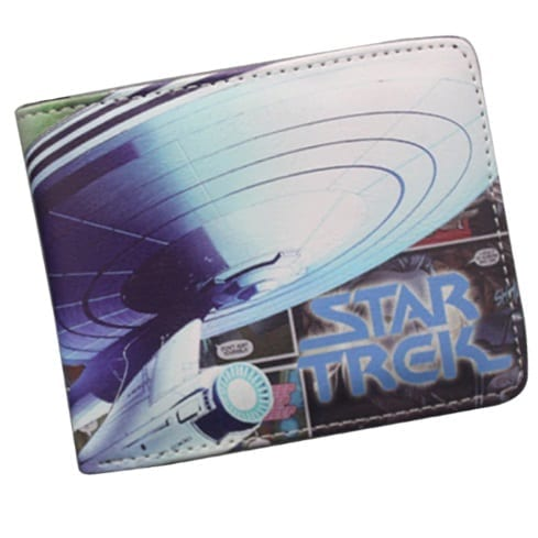Billetera Tela Enterprise PT Star Trek Ciencia Ficción