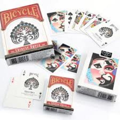 Cartas Chinese opera Bicycle Didacticos
