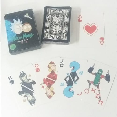 Póker Playing Cards Rick and Morty Poof B Rick and Morty Animados
