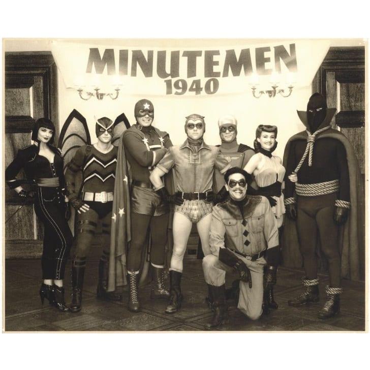 Fotografía Minute Men Poof B Watchmen DC Comics