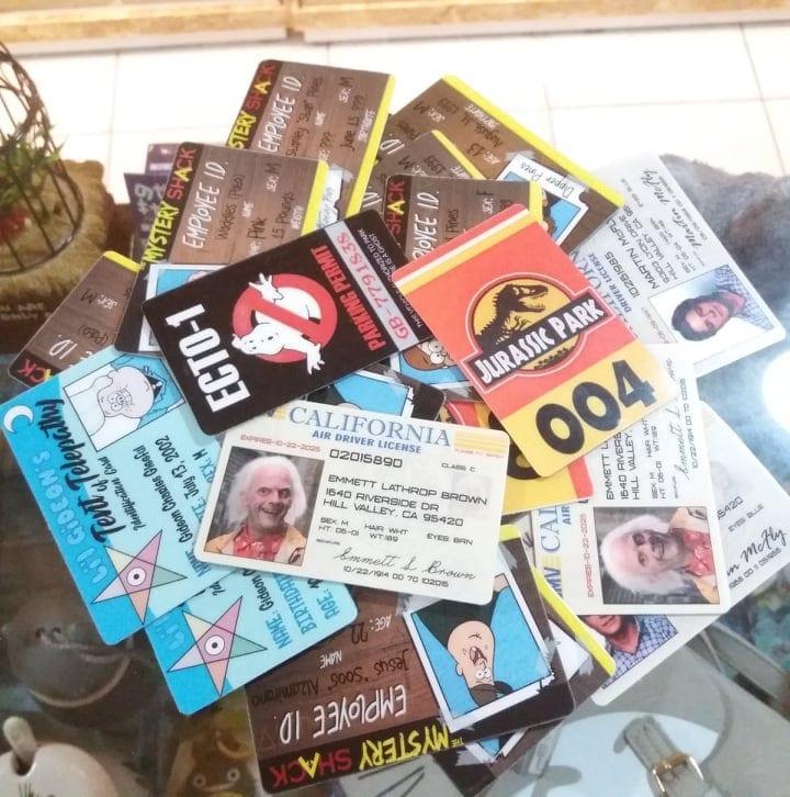 Carnet Carnet ID Poof B Geek Didacticos (Lamina para Pegar) Varios Diseños y Tematicas