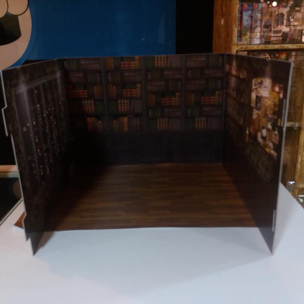 Diorama en Madera Diseños Varios Bring Me Action Geek Didacticos En 3 Piezas