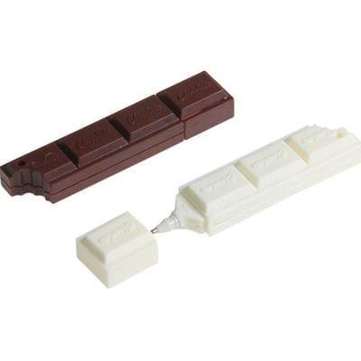 Esfero Barra de Chocolate EB Geek Iconos con Tapa