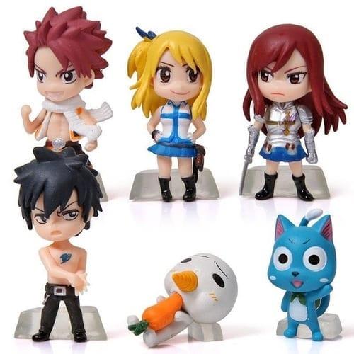 """Figura Chibi Personajes Varios Takara Tomy Arts Fairy Tail Anime 2"""" (Copia)"""