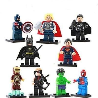 Figura Tipo Lego Personajes Varios PT DC Comics (Copia)