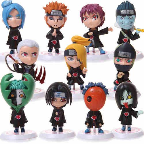 Figura Akatsuki PT Naruto Anime Personajes Varios en Bolsa (Copia)