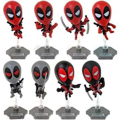 """Figura Deadpoool Blip Toys Deadpool Marvel Caja Sopresa 3"""""""