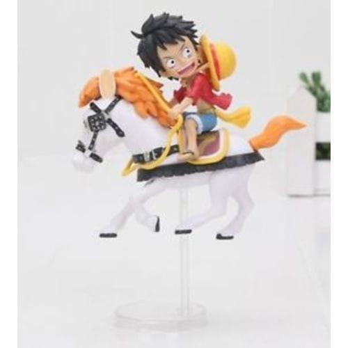 Figura Luffy Ichiban Kuji One Piece Anime sobre Caballo 20th Aniversario (Copia)
