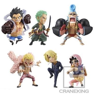 Figura Personajes Varios Banpresto Craneking Fight One Piece Anime en Caja (unidad)